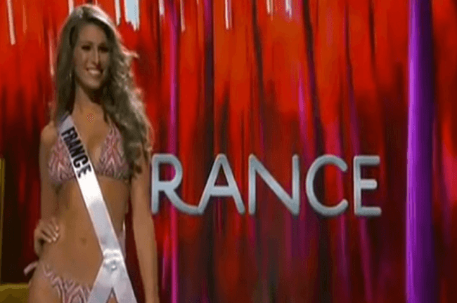 Laury Thilleman Miss Univers 2011