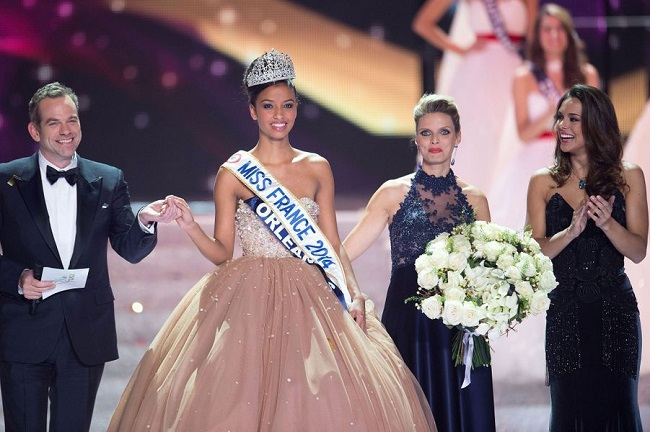 Flora Coquerel gagne Miss France 2014