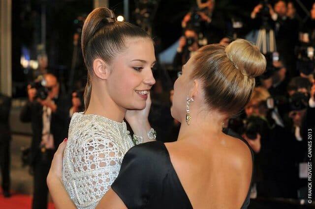 Adèle Exarchopoulos et Léa Seydoux Palme D'Or